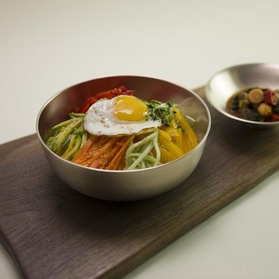 한놋 유기 비빔기 (3 size) 유기그릇 유기면기 놋그릇