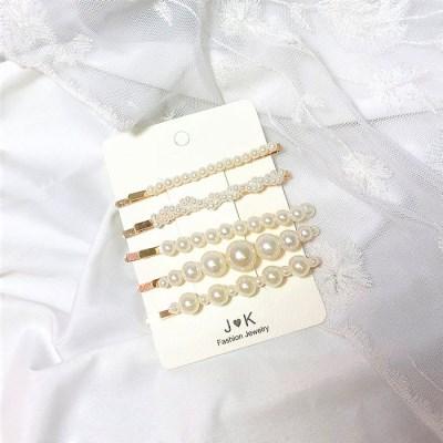 [체리콘] 제니 진주실핀 (5개입)