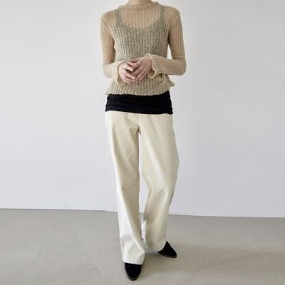 [pants] 와이드 코듀로이 팬츠_(1378873)