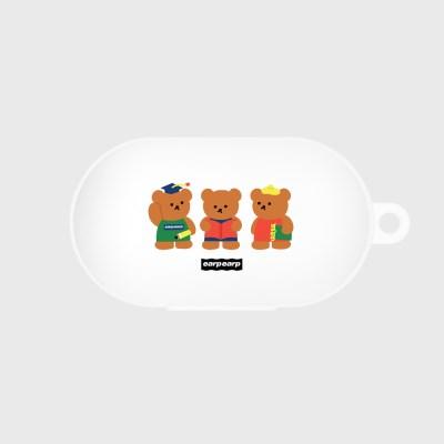 Smart bear friends-white(Buds jelly case)_(1369907)