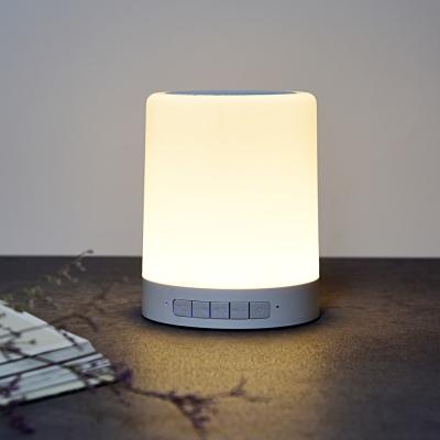 레인보우 LED 무드등 휴대용 블루투스 스피커