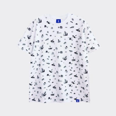 [티니타이거] 서울아이콘 반팔 티셔츠 (화이트)