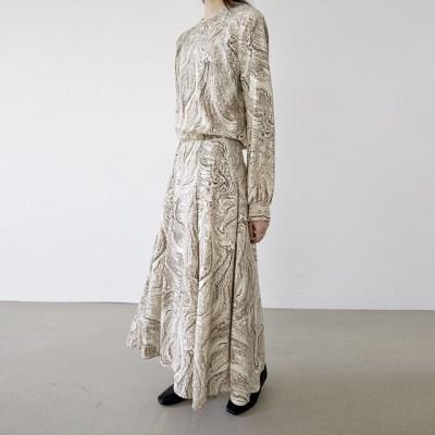 [dress] 에스닉 롱 원피스_(1379407)