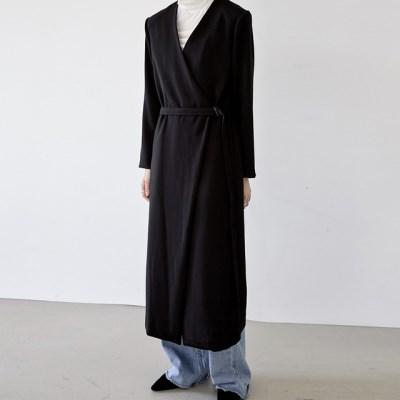 [dress] 랩 코트 원피스_(1379406)
