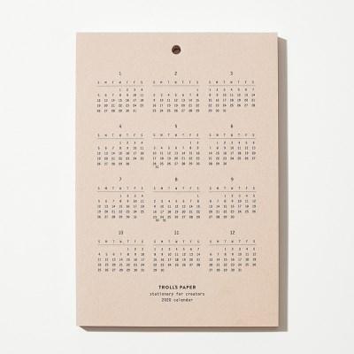 2020 Calendar board type