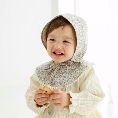 프레디 신생아 헤어밴드 아기턱받이 스카프빕 보넷