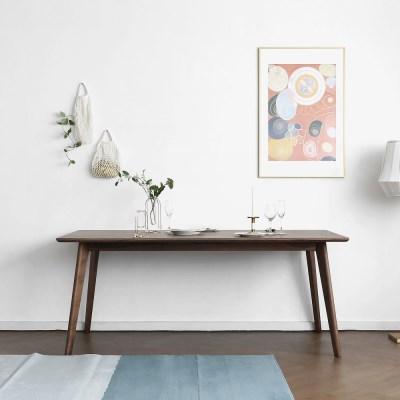 [헤리티지월넛] P형 식탁/테이블_(1414526)