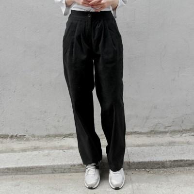 loose tuck cotton pants (2colors)_(1380080)