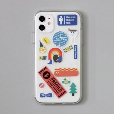 [ 아이폰 11 / 11 Pro ] CBB SC stickerboy1_jelly case
