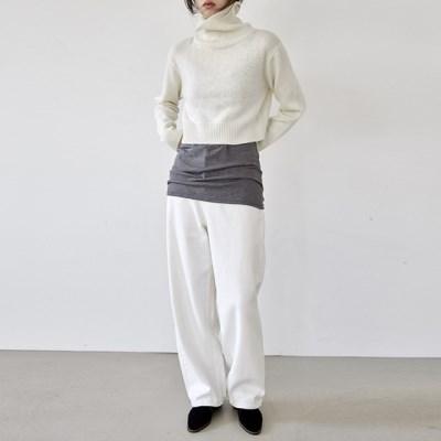 [pants] 화이트 데님 팬츠_(1380134)