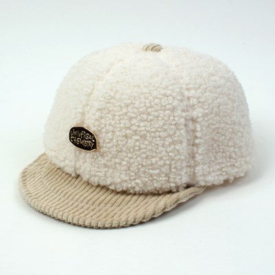 Fleece Ivory Bike Cap 바이크캡