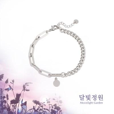 OST 달빛정원 이중체인 커플 남성용 팔찌(OTBT19V08NWW)