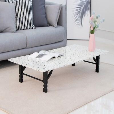 [리코베로] 그란디스 다용도 접이식 테이블 1200 화이트 2가지 패턴