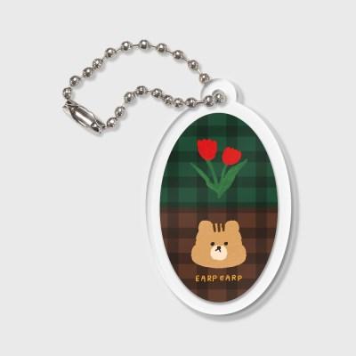 Check rose squirrel(키링)_(1373174)
