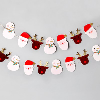 산타와 친구들 가랜드