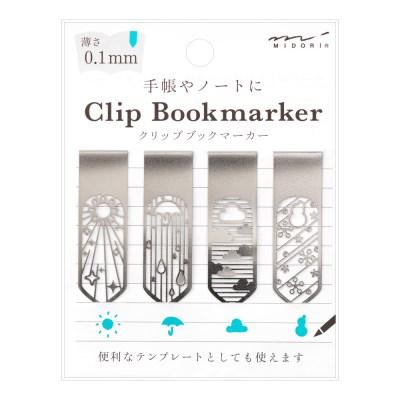 Bookmarker Clip - Flower