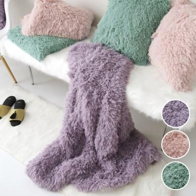 다우니 fur 블랭킷-3color