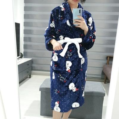 팬시 극세사 샤워가운/목욕가운