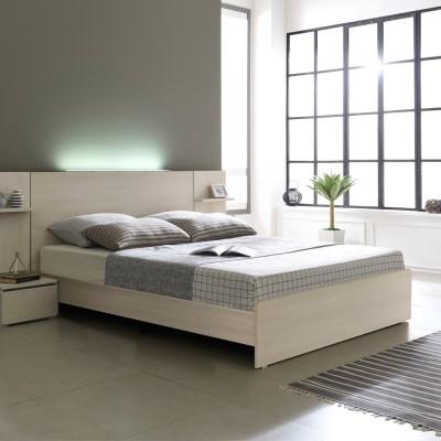 베이직 LED 일반형 슈퍼싱글 침대프레임 SS (매트제외)