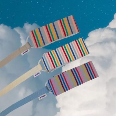 Rainbow stripe lead