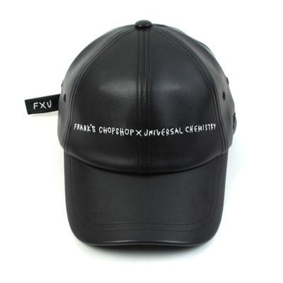FRANKS CHOPSHOP Collabo Logo Leather Ballcap 코라보볼캡