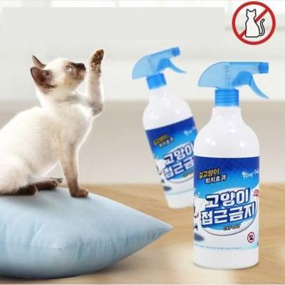 [트래블이지]친환경,인체무해 고양이 접근금지(1000ml)_(2181144)