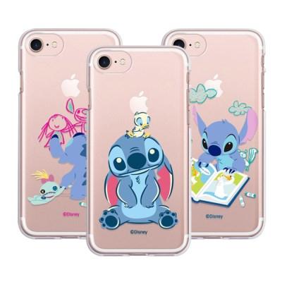 아이폰11 디즈니 스티치 쁘띠 클리어젤리케이스