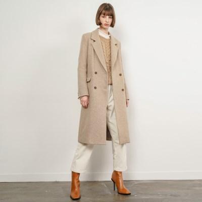 Nancy Double Long Coat_Beige_(35905)