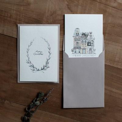 디비디 크리스마스 카드 - Cotton.Ⅱ