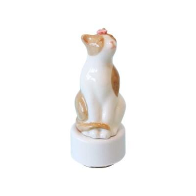 벚꽃고양이-베이지