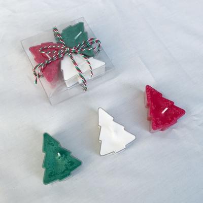 크리스마스 소이 티라이트 캔들 / my little christmas (3P)