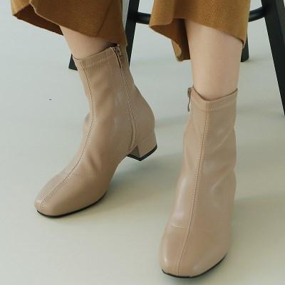 [FOKE]포크슈즈 여성 앵글 앵클부츠 삭스부츠 3.5cm/5cm_(1964027)