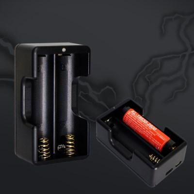 리튬배터리 고속 충전기 2구 / 18650 충전기 충전지충전기