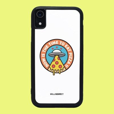 [헬로래빗]피자우주선 TPU범퍼 핸드폰케이스