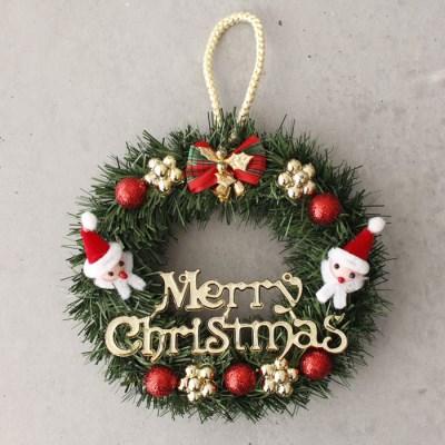 크리스마스 산타 리스 - 20cm_(2806645)