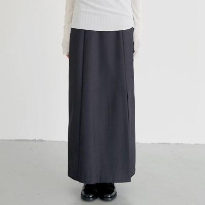 minimal slit skirts (2colors)_(1388244)