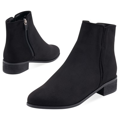 SPUR[스퍼] 앵클부츠 OF9055 Found boots 블랙