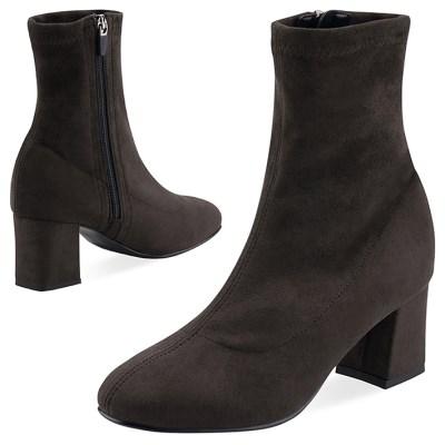 SPUR[스퍼] 삭스부츠 OF9039 Favorite socks boots 다크브라운