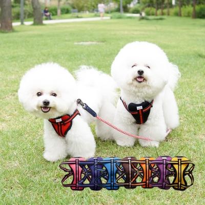 리얼펫 소프트 매쉬 H형 하네스 강아지 가슴줄 (S~XL)