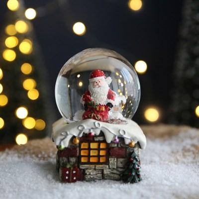 크리스마스 LED 스노우볼 워터볼 M - 산타클로스B - 막스(MARKS)
