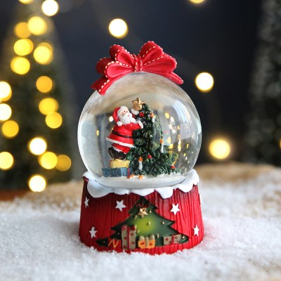 크리스마스 스노우볼 워터볼 M - 산타클로스 - 막스(MARKS)