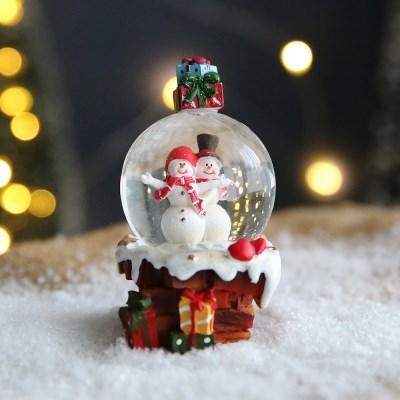 크리스마스 스노우볼 워터볼 S 선물 - 산타클로스C - 막스(MARKS