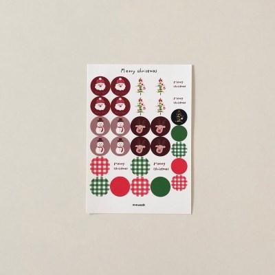 X-mas sticker 01
