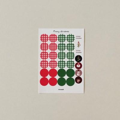 X-mas sticker 02