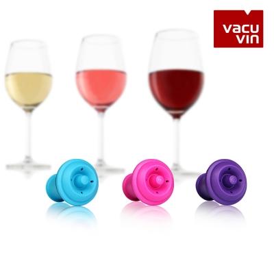 배큐빈 와인 진공 마개 컬러 3PCS