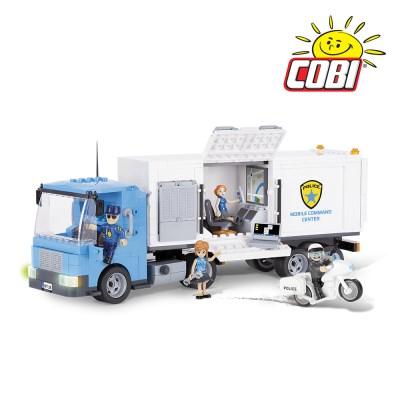 코비 COBI 액션타운 경찰 이동 사령부 차량 1573_(1625150)