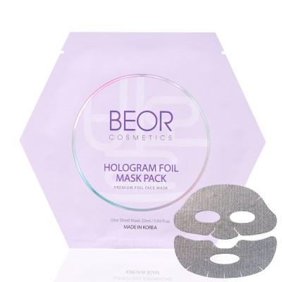비오르 홀로그램 호일 마스크팩 복합 피부 전용 25ml