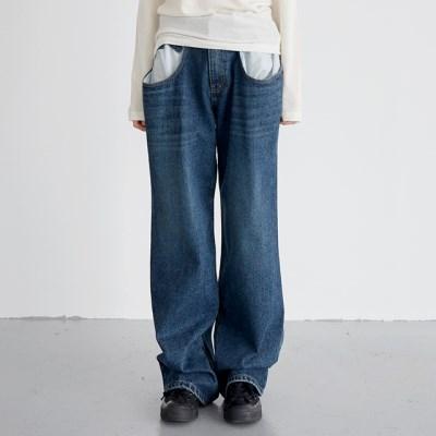 vintage duo denim pants (2colors)_(1388901)