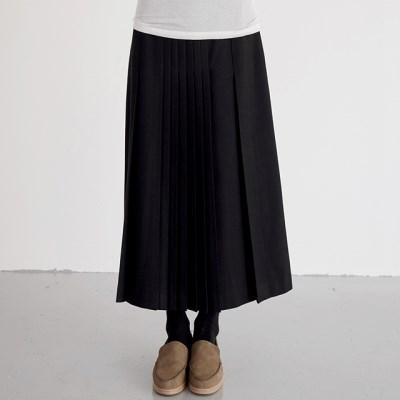 pleats wool skirts (2colors)_(1388896)