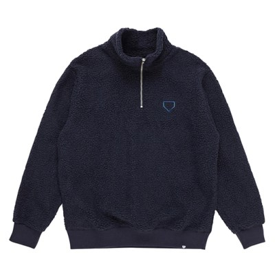 이벳필드_HALF ZIP UP BOA PULLOVER NAVY_FLEB9S1C22_(1610990)